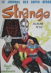 Couverture de Strange -Rec025- Album N°25 (du n°74 au n°76)