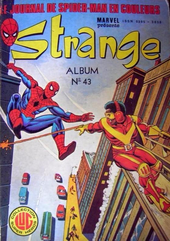 Couverture de Strange -Rec043- Album N°43 (du n°128 au n°130)