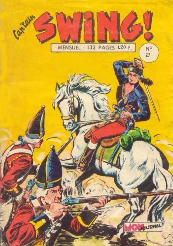 Couverture de Capt'ain Swing! (1re série) -27- La brigade fantôme
