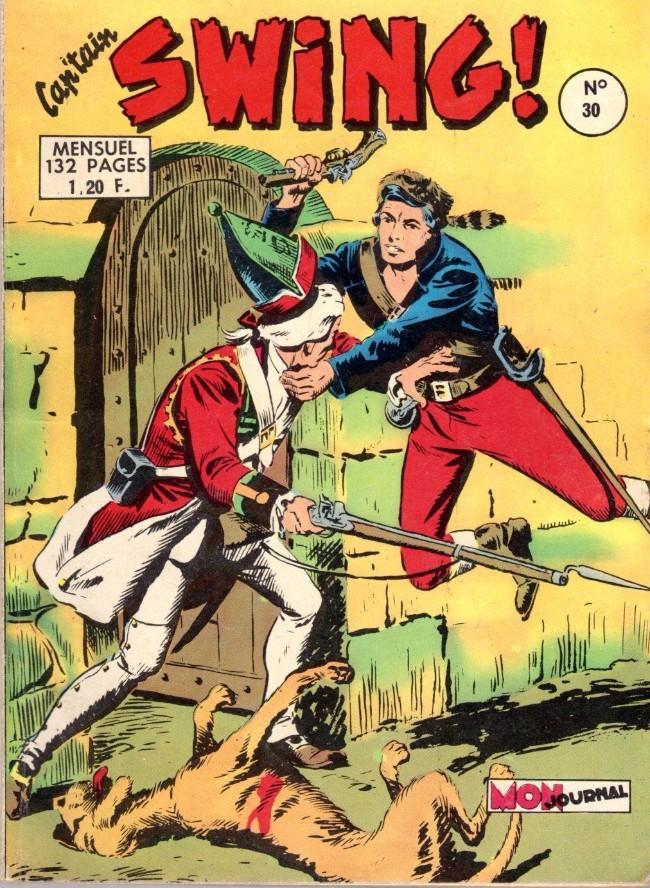 Couverture de Capt'ain Swing! (1re série) -30- L'hyène de Sikawar