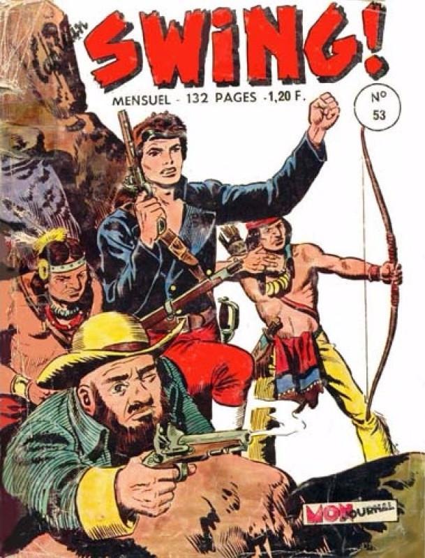 Couverture de Capt'ain Swing! (1re série) -53- La mort invisible