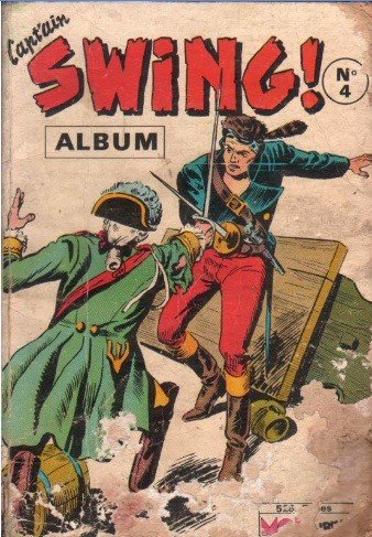 Couverture de Capt'ain Swing! (1re série) -Rec004- Album N°4 (du n°13 au n°16)