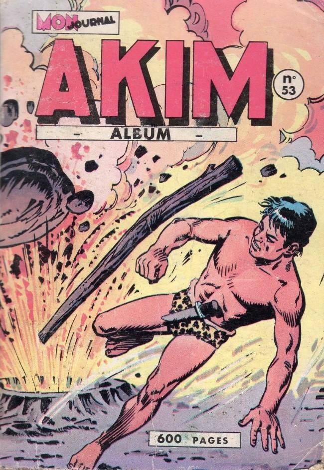 Couverture de Akim (1re série) -Rec053- Album N°53 (du n°321 au n°326)