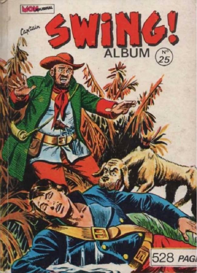 Couverture de Capt'ain Swing! (1re série) -Rec025- Album N°25 (du n°97 au n°100)