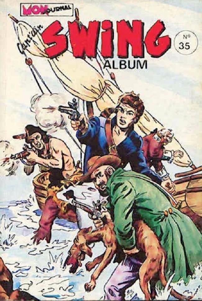 Couverture de Capt'ain Swing! (1re série) -Rec035- Album N°35 (du n°135 au n°137)