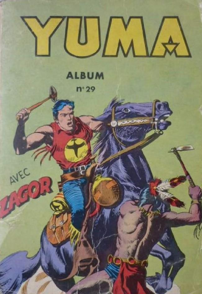 Couverture de Yuma (1re série) -Rec029- Album N°29 (du n°113 au n°116)