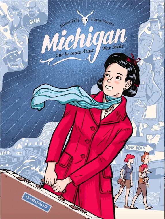 Couverture de Michigan, sur la route d'une War Bride - Michigan, sur la route d'une War bride
