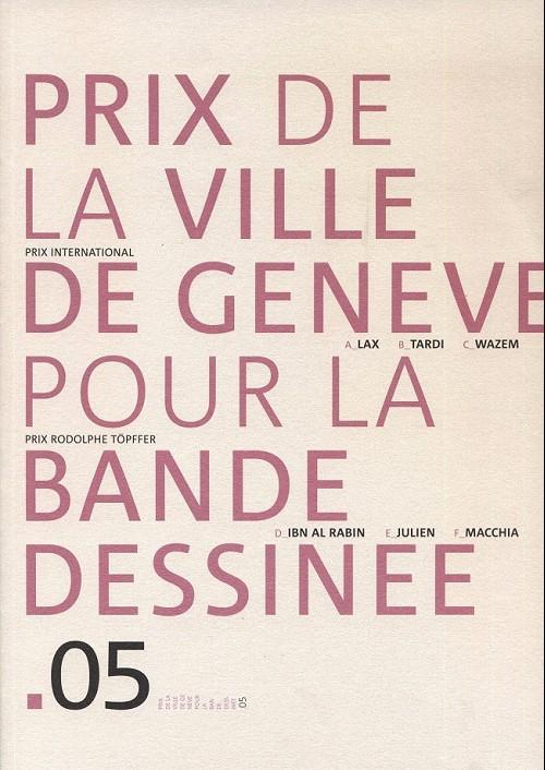 Couverture de (Catalogues) Prix Töpffer de la ville de Genève -10- 2005