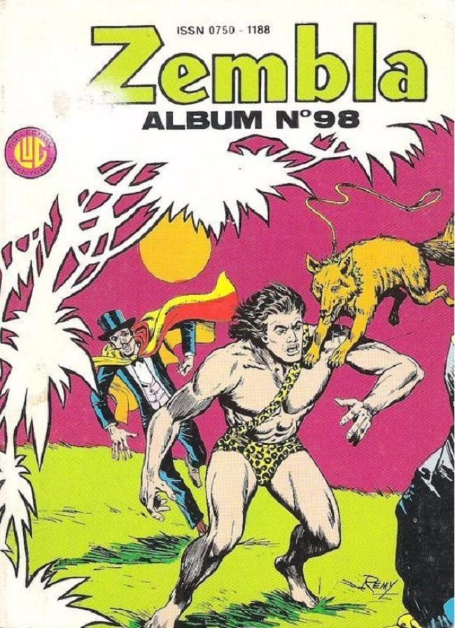 Couverture de Zembla -Rec098- Album N°98 (du n°390 au n°392)