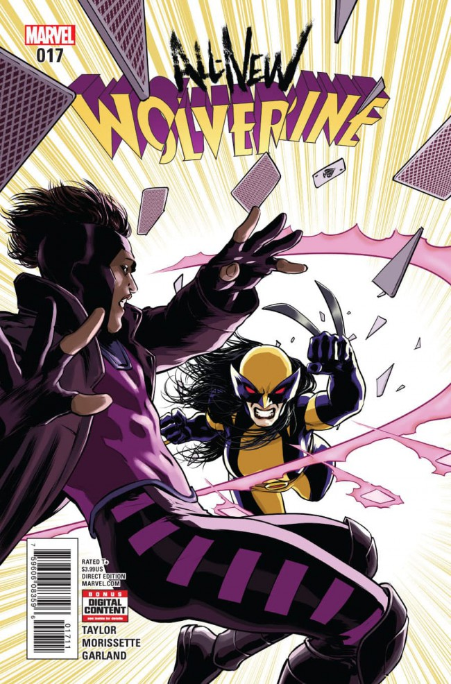 Couverture de All-New Wolverine (2016) -17- Enemy of the State II: Part Five
