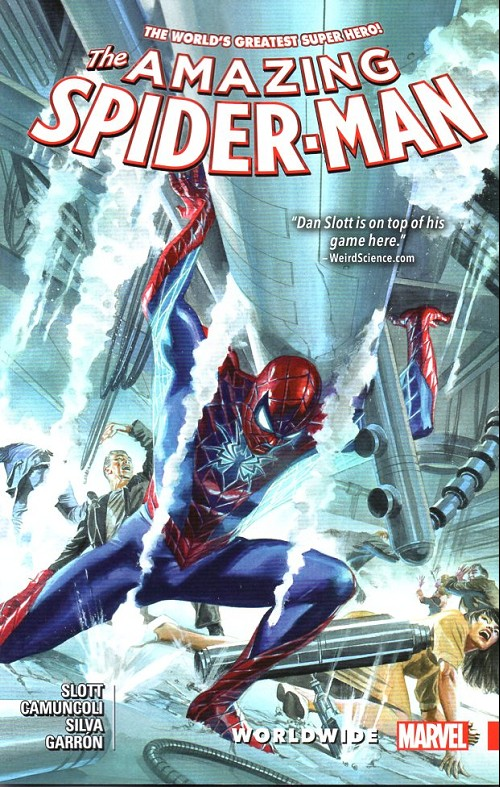 Couverture de Amazing Spider-Man (The) (2015) -INT04- Worlwide 4