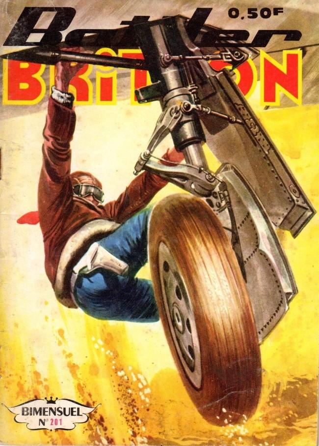 Couverture de Battler Britton (Imperia) -201- Objectif Allemagne !