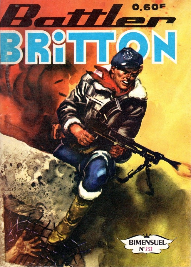 Couverture de Battler Britton -252- Une partie privée