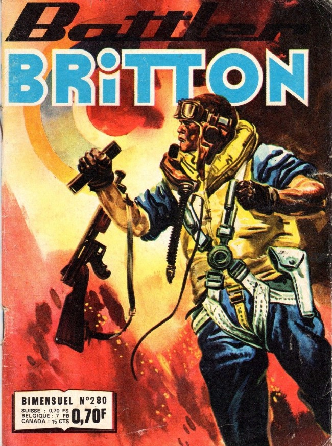Couverture de Battler Britton -280- Piège pour un pilote