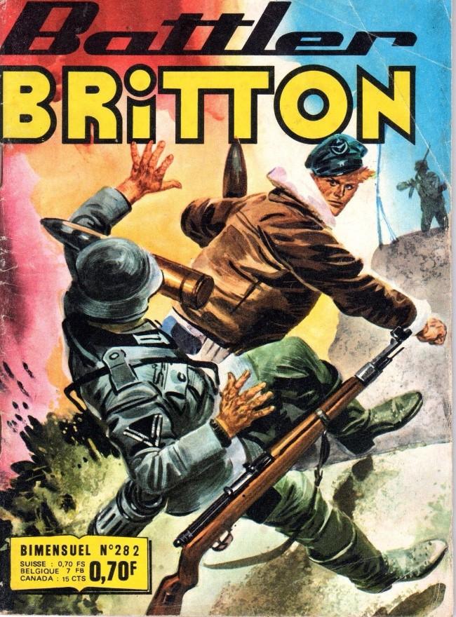 Couverture de Battler Britton -282- Permission dangereuse