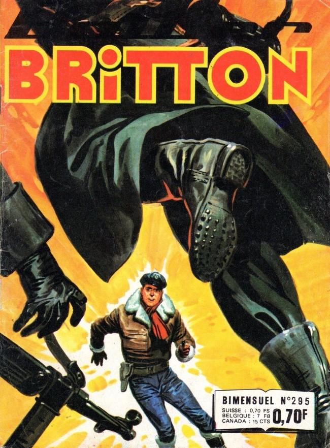 Couverture de Battler Britton -295- Le train blindé