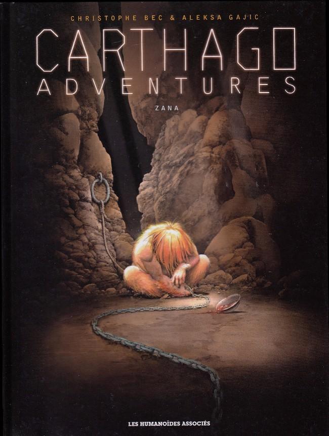Couverture de Carthago Adventures -5- Zana