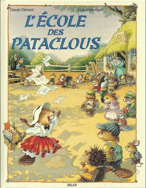 Couverture de Les pataclous -2- L'école des Pataclous