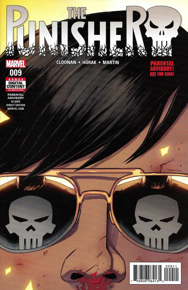 Couverture de Punisher (2016) (The) -9- Issue 9