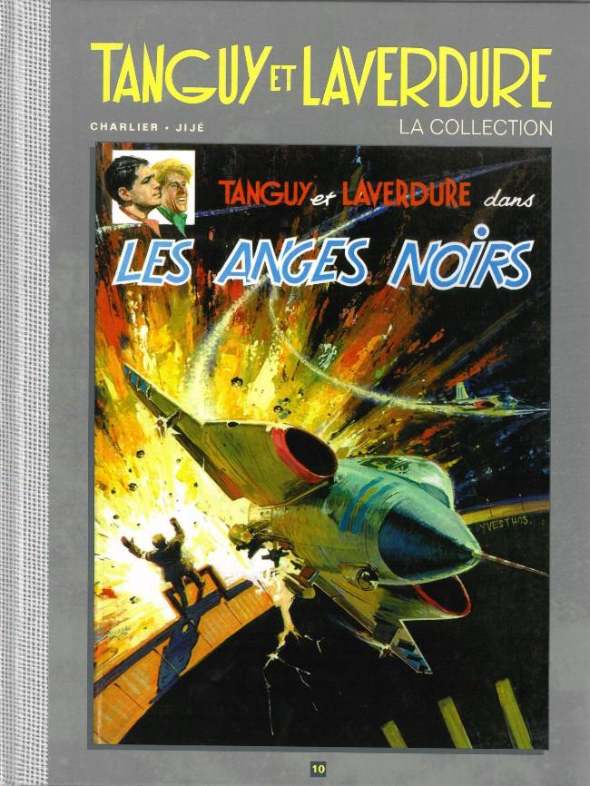 Couverture de Tanguy et Laverdure - La Collection (Hachette) -10- Les anges noirs