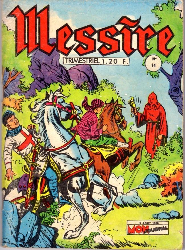 Couverture de Messire (Mon Journal) -14- La boîte magique