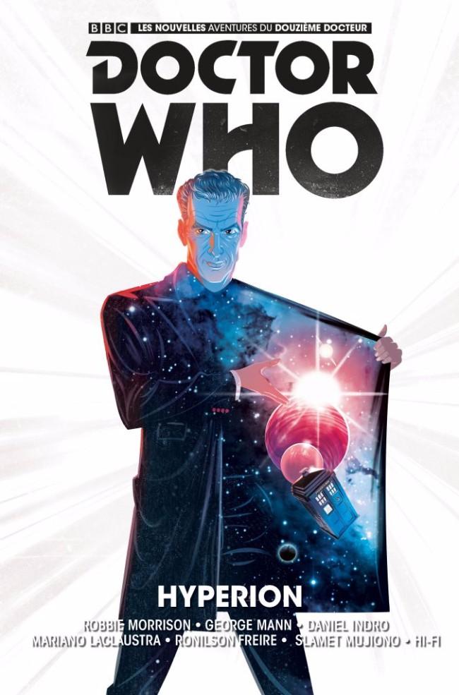 Couverture de Doctor Who - Les nouvelles aventures du douzième docteur -3- Hypérion