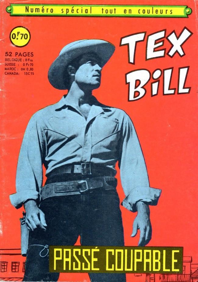 Couverture de Tex Bill -SP03- Spécial 12/67 : Passé coupable