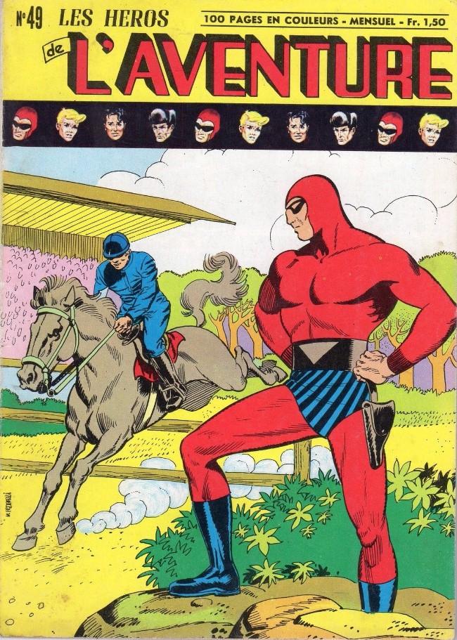 Couverture de Les héros de l'aventure (Classiques de l'aventure, Puis) -49- Le Fantôme : Le champion de l'ombre