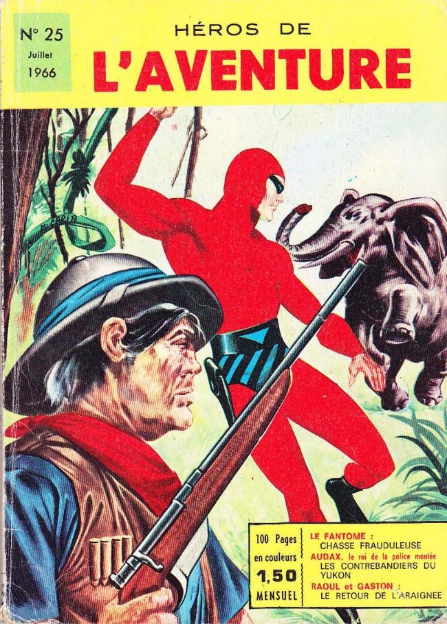 Couverture de Les héros de l'aventure (Classiques de l'aventure, Puis) -25- Le Fantôme : Chasse frauduleuse