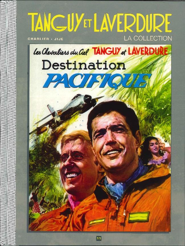 Couverture de Tanguy et Laverdure - La Collection (Hachette) -11- Destination Pacifique
