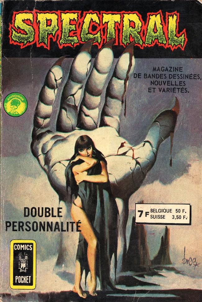 Couverture de Spectral (2e série) -Rec04- Double personnalité / La créature