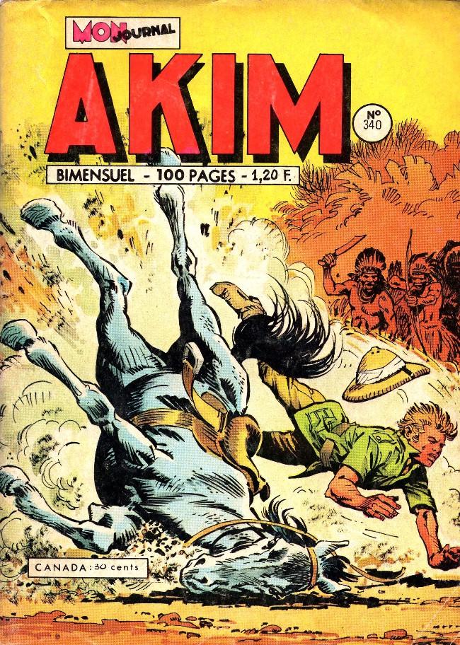 Couverture de Akim (1re série) -340- L'homme au cheval rose