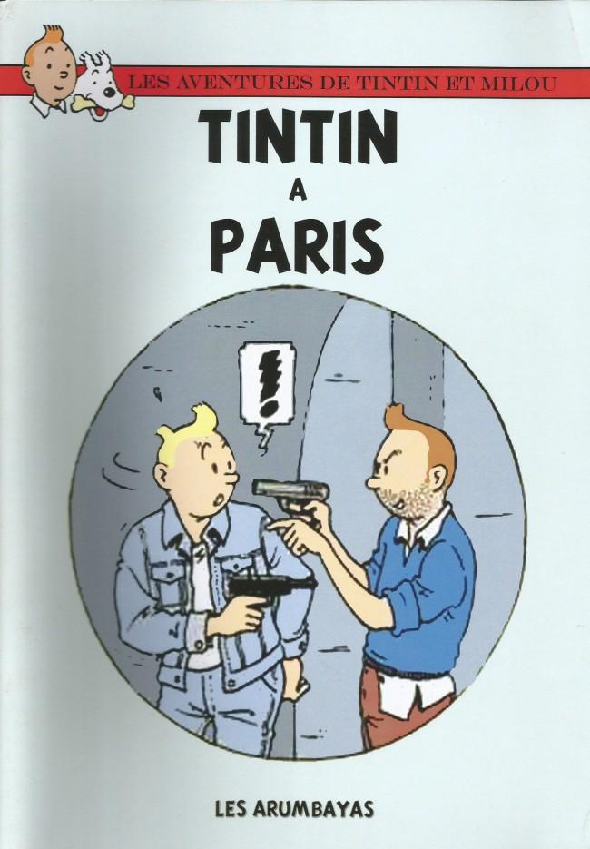 Couverture de Tintin - Pastiches, parodies & pirates - Tintin à Paris