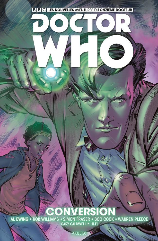 Couverture de Doctor Who - Les nouvelles aventures du onzième docteur -3- Conversion