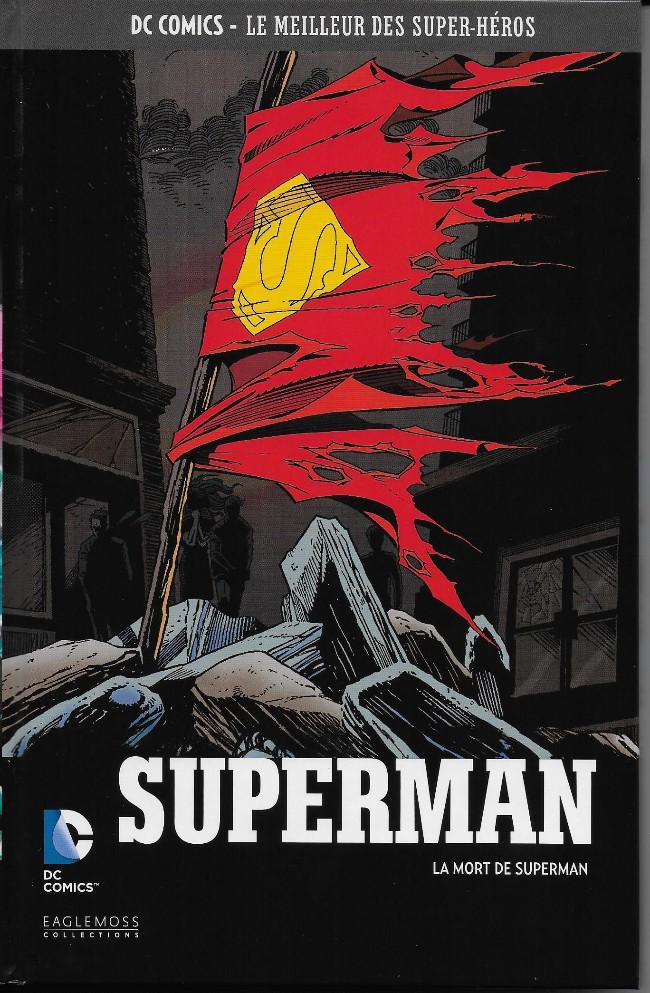 Couverture de DC Comics - Le Meilleur des Super-Héros -40- Superman - La Mort de Superman