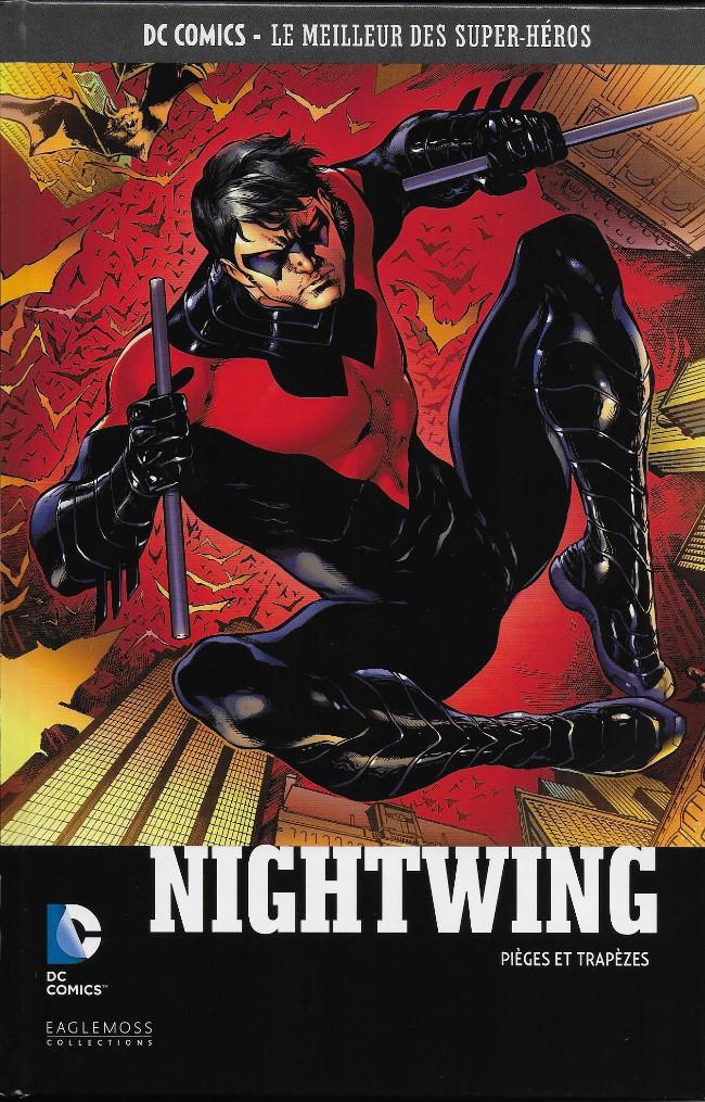 Couverture de DC Comics - Le Meilleur des Super-Héros -41- Nightwing - Pièges et trapèzes