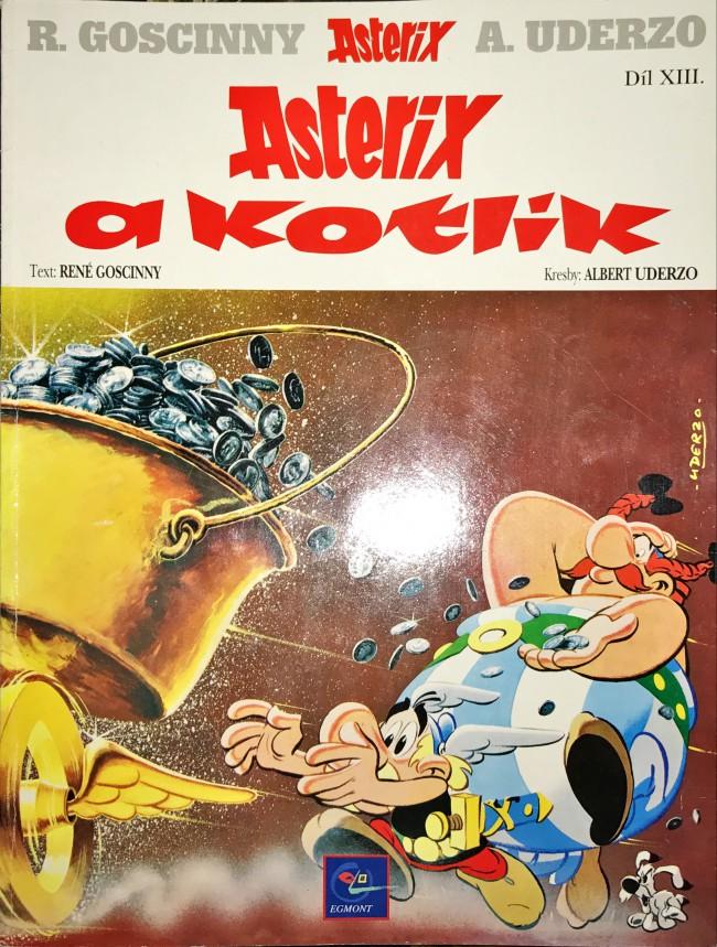 Couverture de Astérix (en langues étrangères) -13- Asterix a kotlik