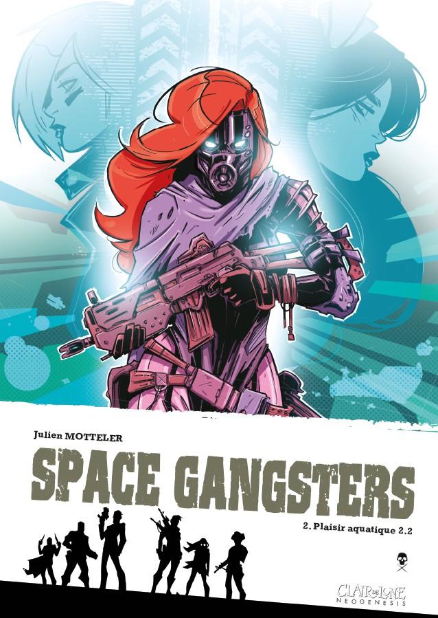 Couverture de Space Gangsters -2- Plaisir aquatique 2.2