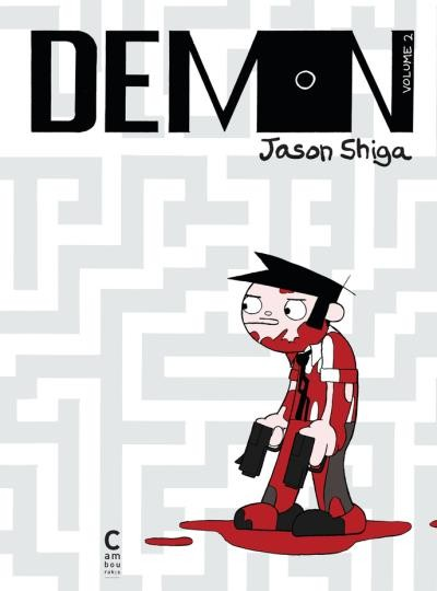 Couverture de Demon (Shiga) -2- Volume 2