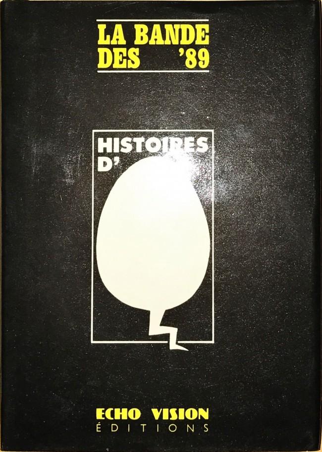 Couverture de Histoires d'œuf