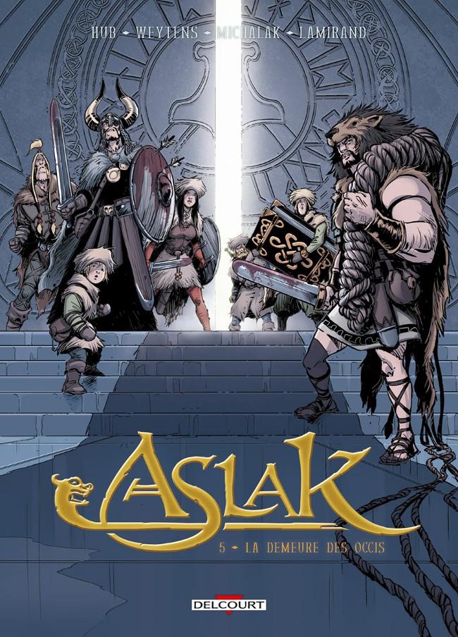 Couverture de Aslak -5- La Demeure des occis