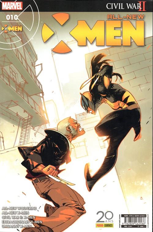 Couverture de All-New X-Men -10- Le Destin
