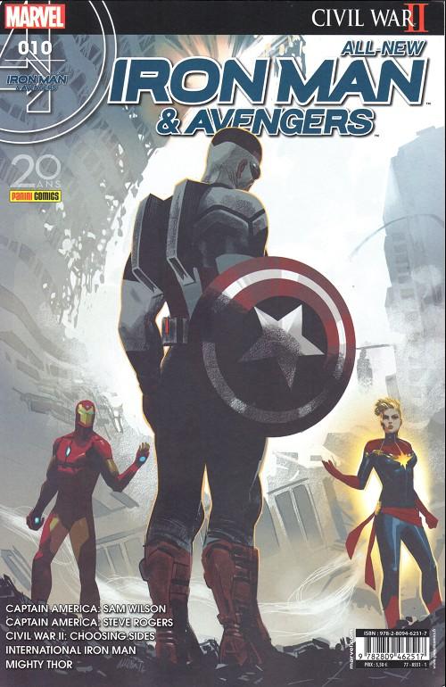 Couverture de All-New Iron Man & Avengers -10- Les coulisses de la guerre