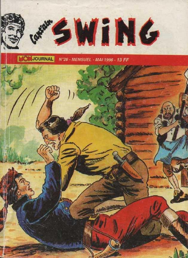 Couverture de Capt'ain Swing! (2e série - Mon Journal) -26- Sudraka l'invincible