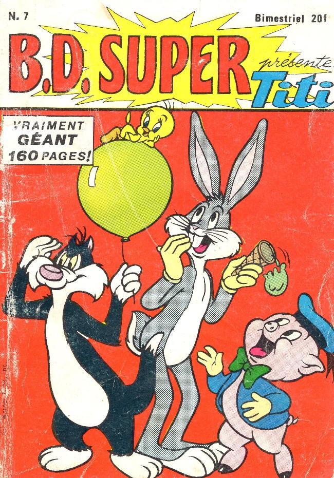 Couverture de B.D. Super -7- B.D. SUPER présente Titi