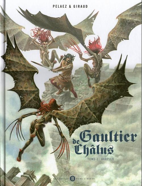 Couverture de Gaultier de Châlus -2- Harpies