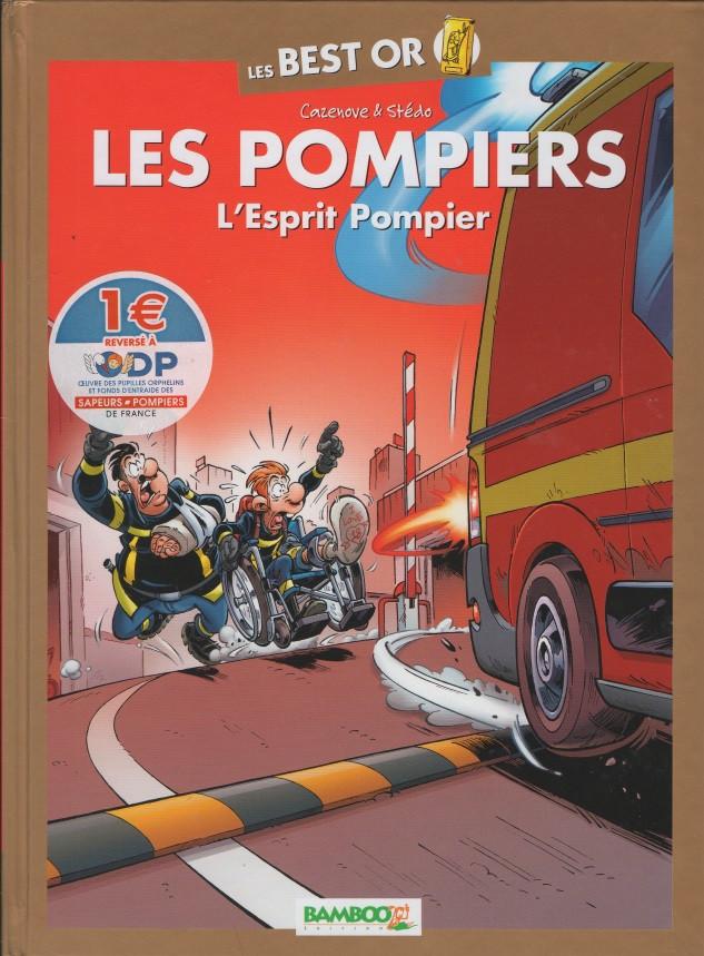 Couverture de Les pompiers - Tome BO4
