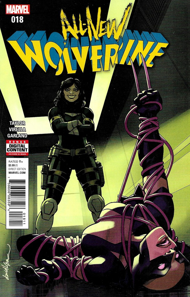 Couverture de All-New Wolverine (2016) -18- Enemy Of The State II
