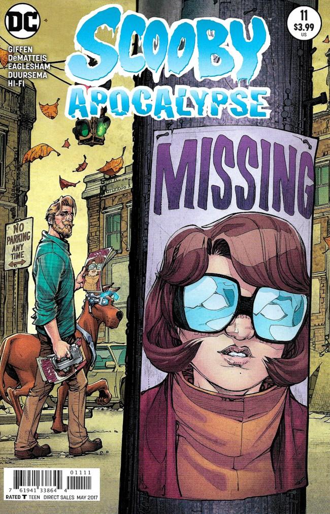 Couverture de Scooby Apocalypse (2016) -11- The Search