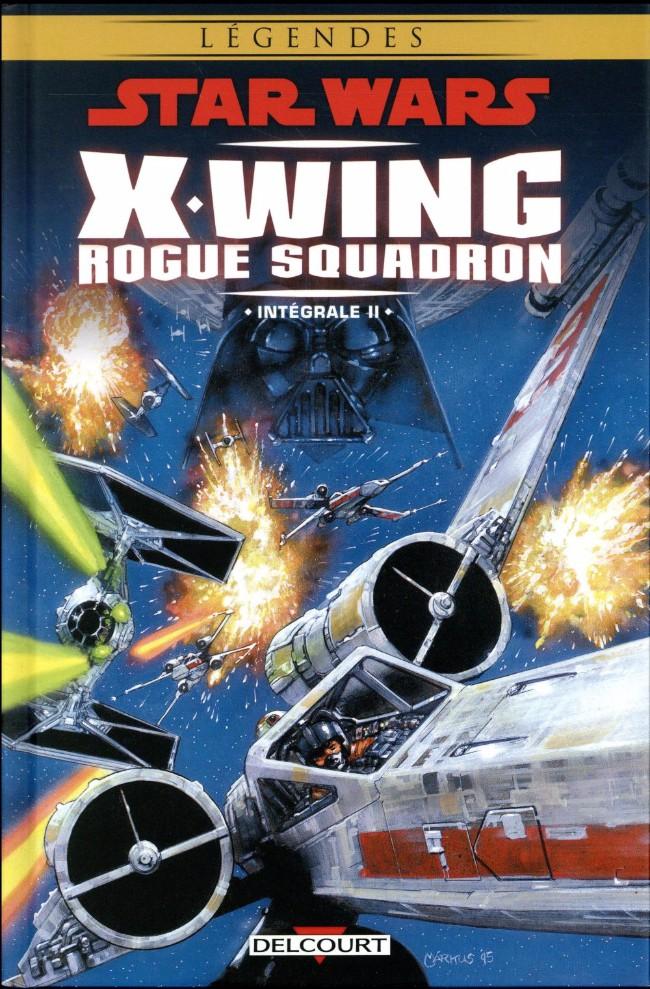 Couverture de Star Wars - X-Wing Rogue Squadron (Delcourt) -INT02- Intégrale II